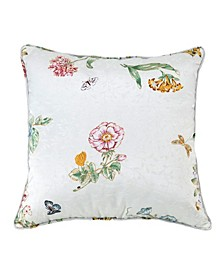 """Butterfly Meadow 18"""" x 18"""" Decorative Pillow"""