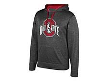 Ohio State Buckeyes Men's Big Logo Poly Hoodie
