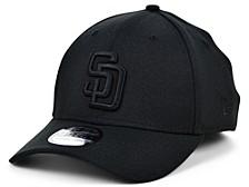 San Diego Padres Blackout 39THIRTY Cap