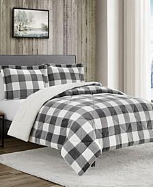 Buffalo Check 3-Pc King Comforter Set