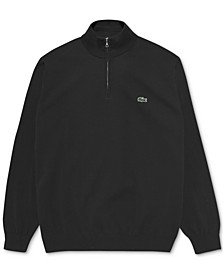 Men's Classic-Fit 1/4-Zip Sweater