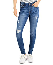 Juniors' Distressed Skinny Jeans