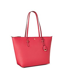 Faux Leather Keaton Tote