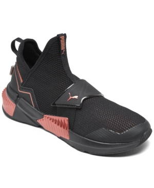 Puma WOMEN'S PROVOKE XT MID STAY-PUT CLOSURE SLIP-ON CASUAL TRAINING SNEAKERS FROM FINISH LINE