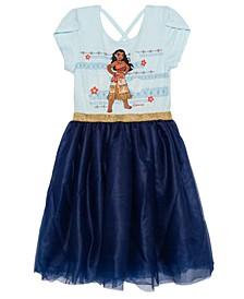 Big Girls Moana Short Sleeve Tutu Dress