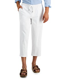 Men's Wide Cropped Pants, Created for Macy's