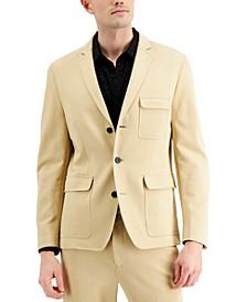 Men's Ponte Slim-Fit Utility Blazer, Created for Macy's