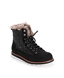 Women's Sigrid Laceup Cold Weather Furry Booties