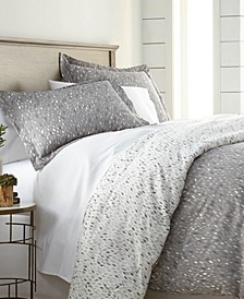 Premium Ultra Soft Botanical Printed 3 Piece Comforter and Sham Set, Full/Queen