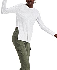 INC Cotton Textured Tunic, Created for Macy's