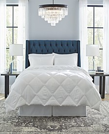 Down Alternative Diamond Stitch Quilted Oversized Comforter, King