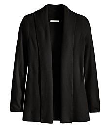 Women's Ribbed Long Sleeve Cardigan