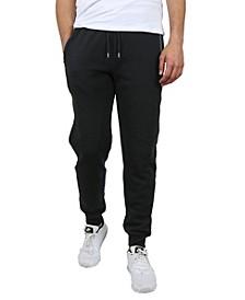 Men's Classic Fleece Jogger Sweatpants with Zipper Pockets