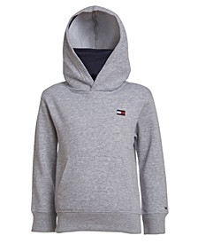 Big Boys Integrated Facemask Pullover Hoodie