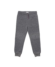 Little Boys Solid New Moto Knit Jogger