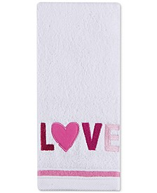 "Love 16"" x 28"" Hand Towel, Created for Macy's"