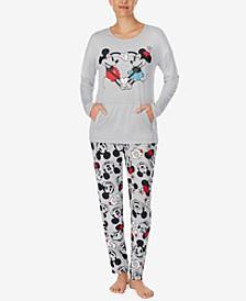 Mickey & Minnie Mouse Pajama Set