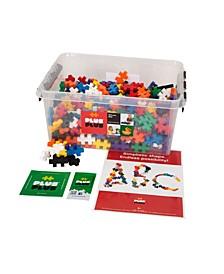 Big - 400 Piece Open Play Set with Storage Tub - Construction Building Set