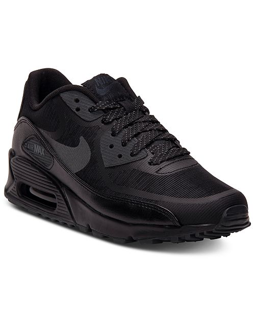 nike air max 90 premium tape all black 3m