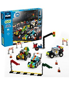 - GO! 900 Pieces Street Racing Super Set - Model Vehicle Building Steam Toy