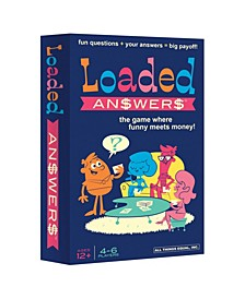 Loaded Answers - The Exciting Twist on the Popular Loaded Questions Family/Party Game