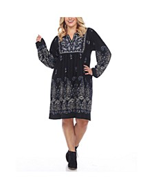 Women's Plus Size Sweater Dress