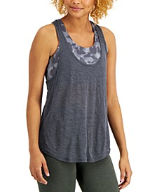 Camo Bra Tank Top, Created for Macy's