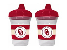 Baby Fanatic Oklahoma Sooners 2 Pack Sippy Cup