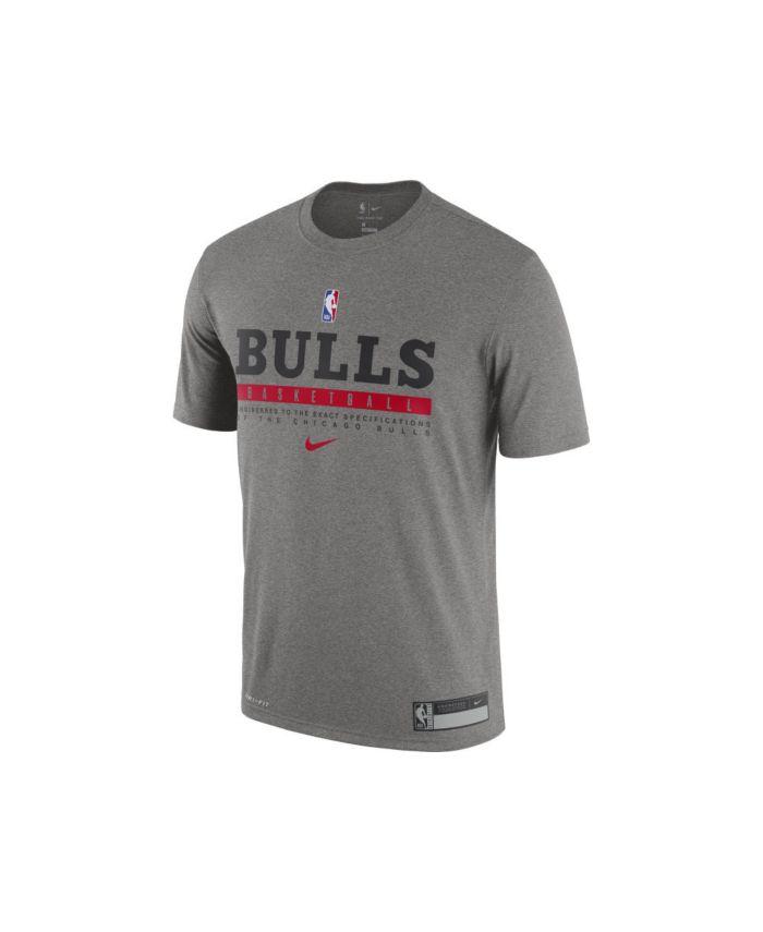 Nike Men's Chicago Bulls Practice T-Shirt & Reviews - NBA - Sports Fan Shop - Macy's