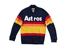 Men's Houston Astros Authentic Sweater Jacket