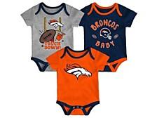 Denver Broncos Newborn Champ 3 Piece Set