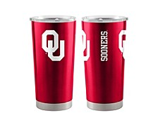 Oklahoma Sooners 20oz Bottle Tumbler