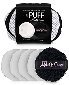6-Pc. Reusable Toner & Exfoliating Puff Set