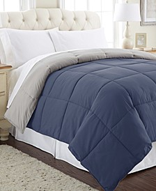 Down Alternative Reversible Comforter, Full/Queen