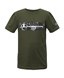 Big Boys Camo Backdrop Script T-shirt