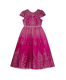 Toddler Girls Glitter Ballgown