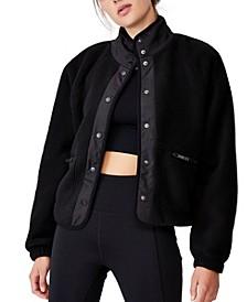 Women's Warm Up Sherpa Jacket