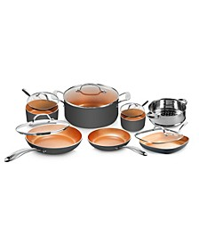 Ti-Ceramic Nonstick 12-Pc. Cookware Set