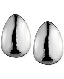 "Anne Klein 3/4"" Hoop E-Z Comfort Clip-On Earrings"
