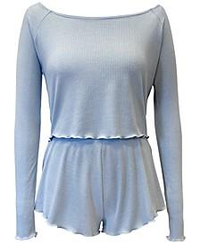 Rib-Knit Sleep Top & Shorts, Created for Macy's