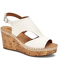 Ferann Shielded Wedge Sandals, Created for Macy's