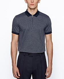 BOSS Men's T-Peterson Slim-Fit Cotton Polo Shirt
