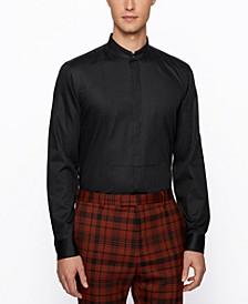 BOSS Men's Jarin Slim-Fit Cotton Evening Shirt