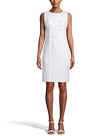 Anne Klein Textured Sheath Dress