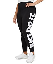 Plus Size Essential High-Rise Leggings