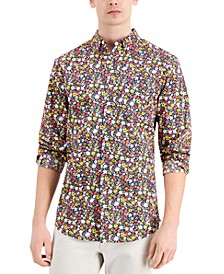Men's Ryder Floral Shirt, Created for Macy's