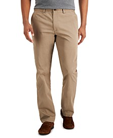 Men's Regular-Fit Solid Pants, Created for Macy's