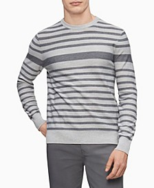 Merino Engineered Stripe Sweater
