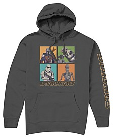 Big Boys Star Wars Hooded Fleece Hoody