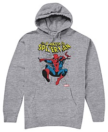 Big Boys Spiderman Hooded Fleece Hoody